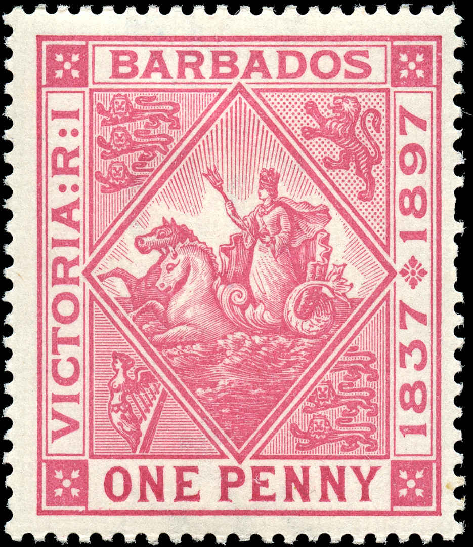 Barbados Stamp, Scott ##83, F+, MH