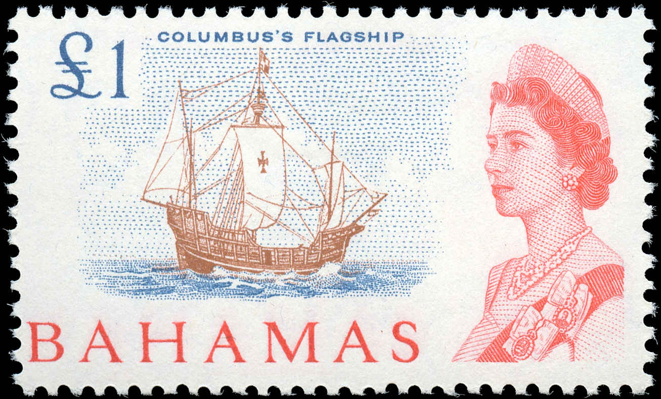 Bahamas Stamp, Scott #218, F+, MH