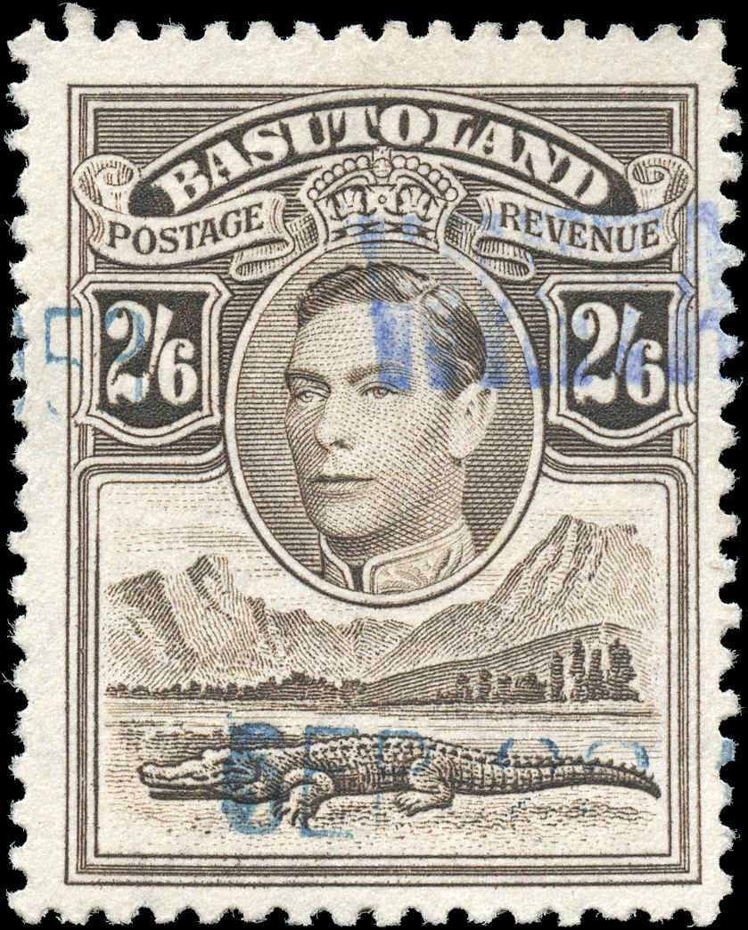 Basutoland Stamp, Scott ##26, F+, Used