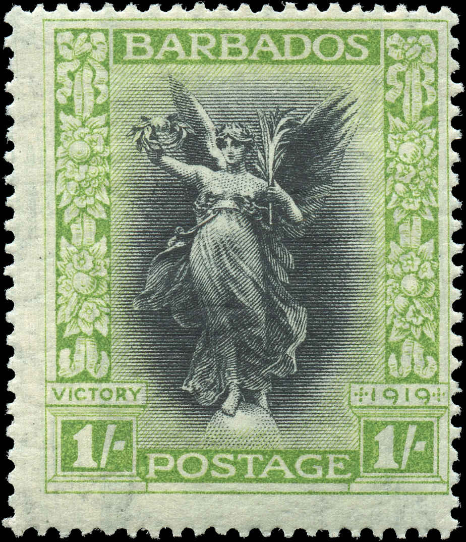 Barbados Stamp, Scott #148, F, MH