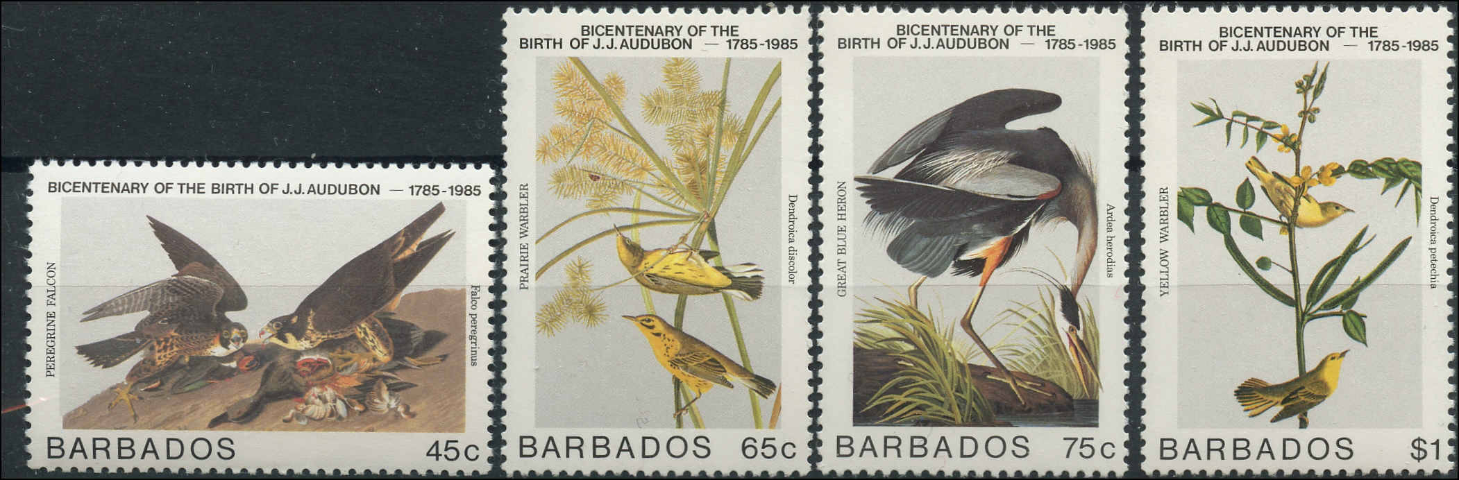 Barbados Stamp, Scott #665-668, VF, MNH