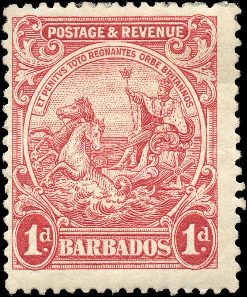Barbados Stamp, Scott #167a, F, MH