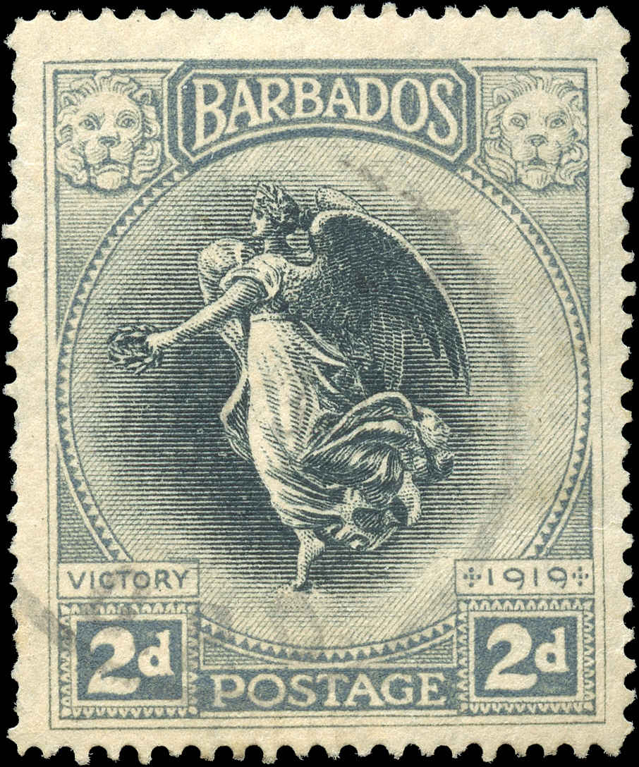 Barbados Stamp, Scott #143, F+, Used