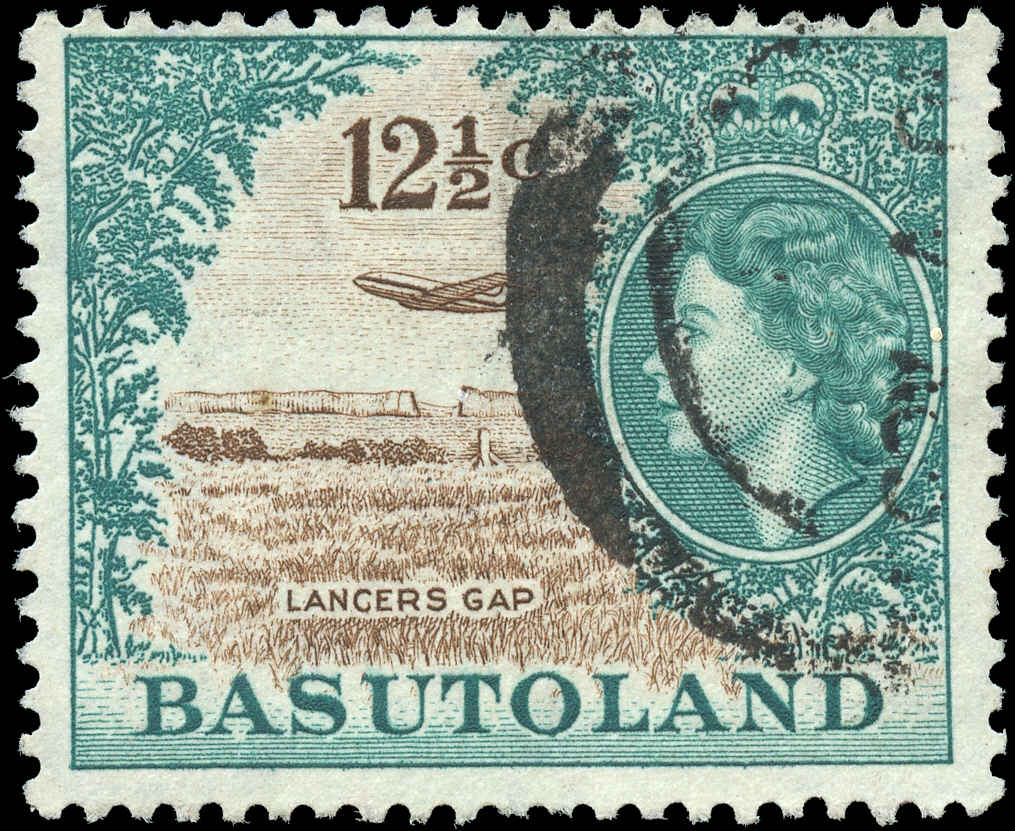 Basutoland Stamp, Scott ##79, F, Used
