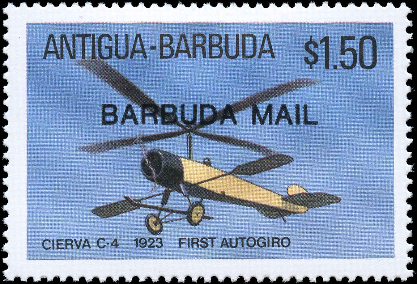 Barbuda Stamp, Scott #874, F-VF, MH