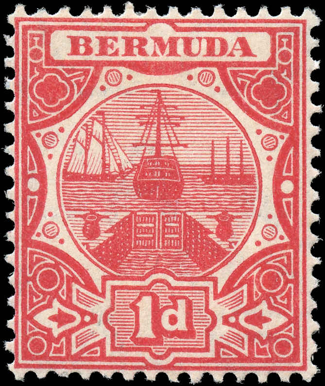 Bermuda Stamp, Scott ##35, F, MH
