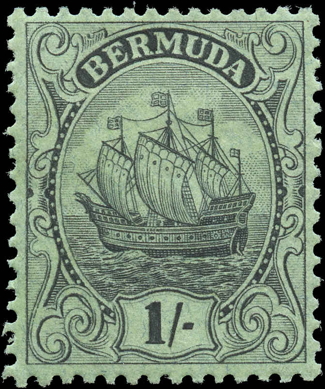 Bermuda Stamp, Scott ##92, F+, MH