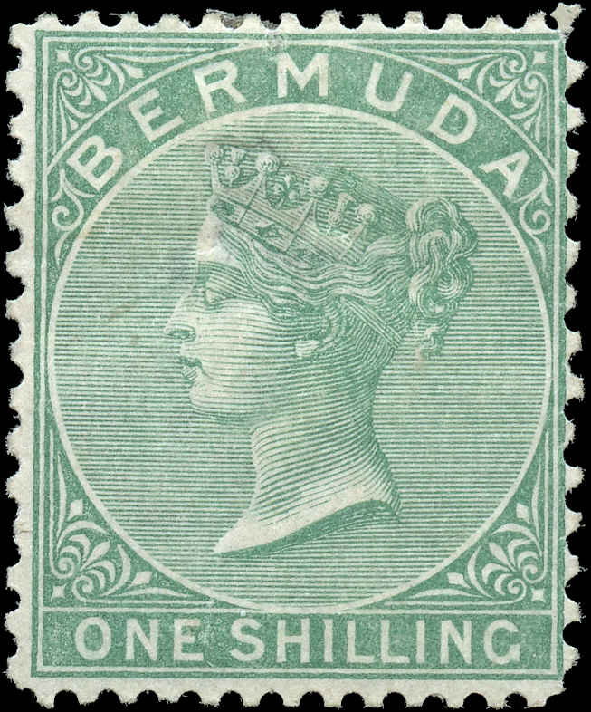 Bermuda Stamp, Scott ###9, F, MH