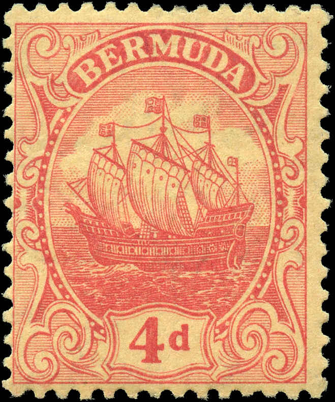Bermuda Stamp, Scott ##46, F, MH