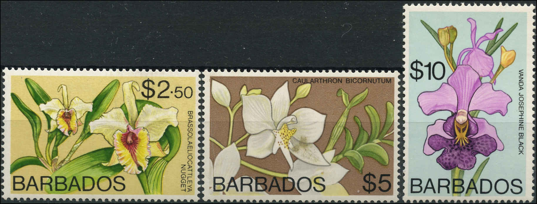 Barbados Stamp, Scott #409-11, F+, MNH