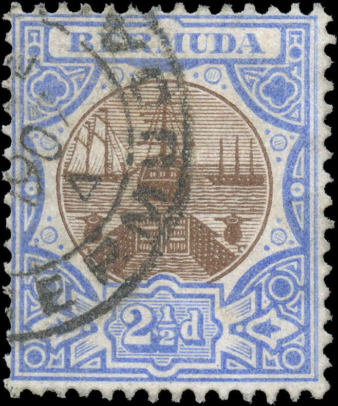 Bermuda Stamp, Scott ##37, F, Used