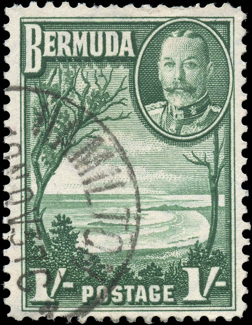 Bermuda Stamp, Scott #113, F+, Used