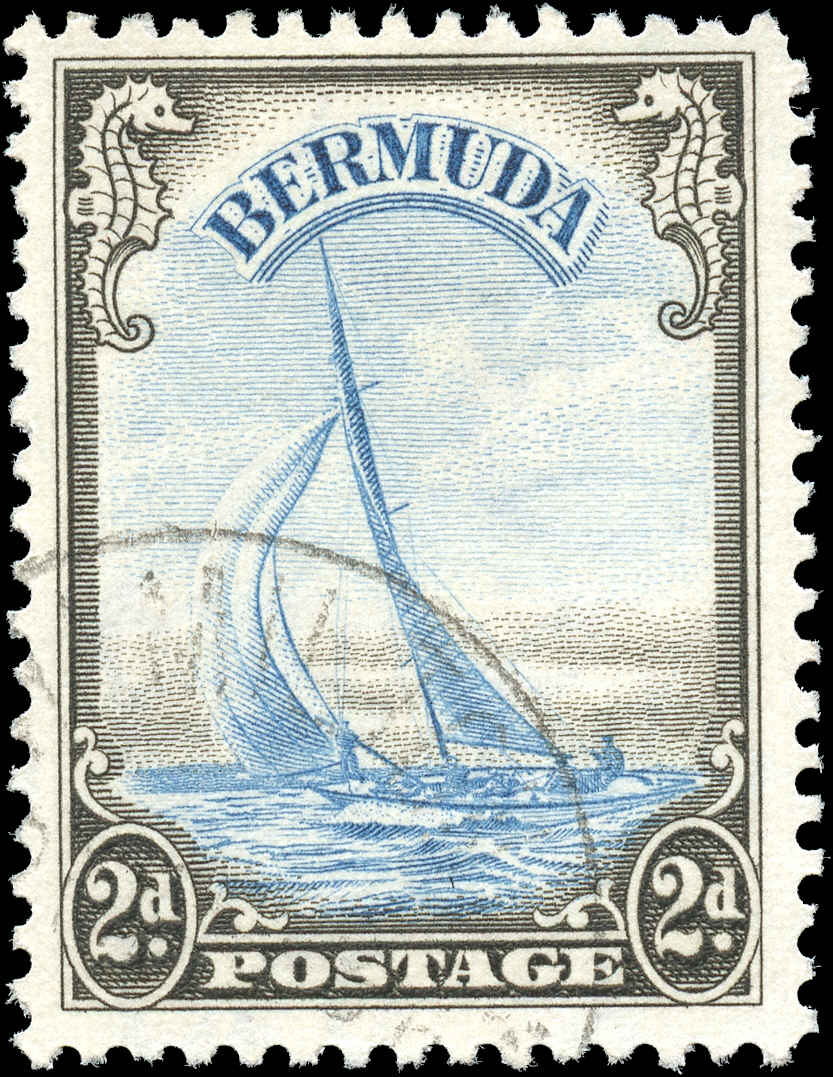 Bermuda Stamp, Scott #109, F+, Used