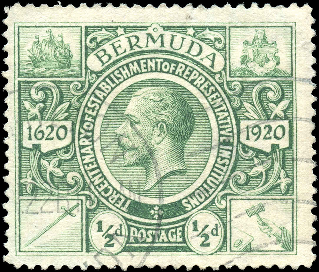 Bermuda Stamp, Scott ##72, F+, Used