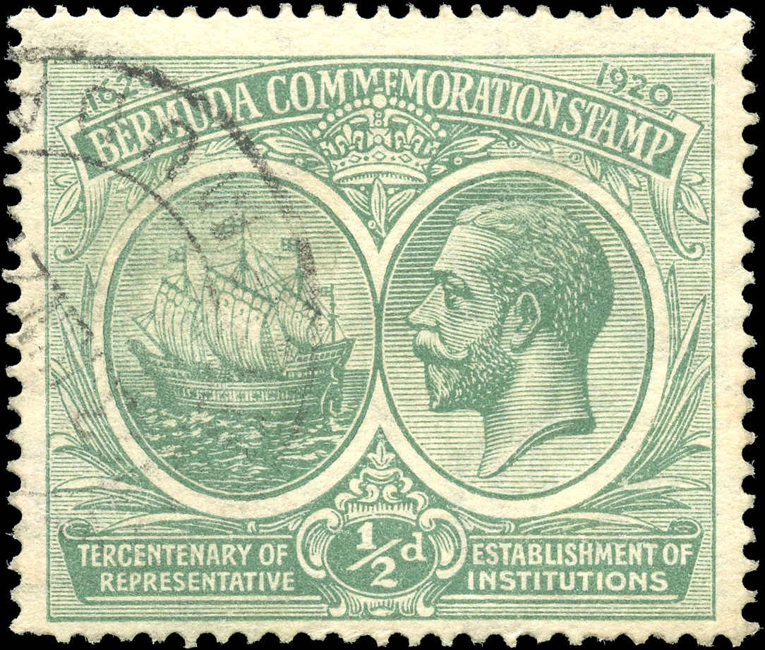 Bermuda Stamp, Scott ##56, F+, Used