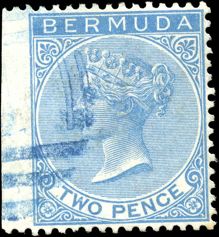 Bermuda Stamp, Scott ###2, F-VF, Used