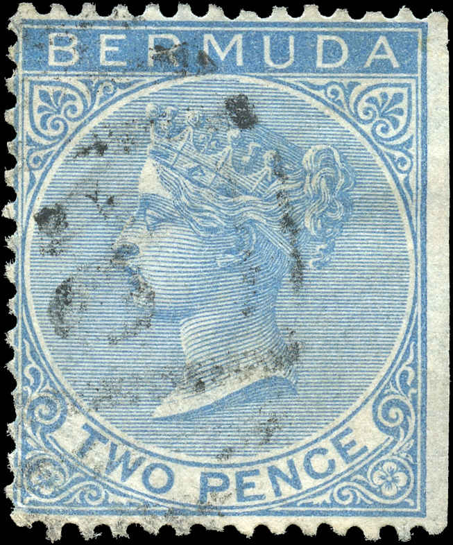 Bermuda Stamp, Scott ###2, F, Used