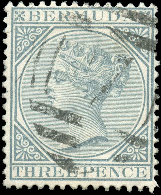 Bermuda Stamp, Scott ##23, F+, Used