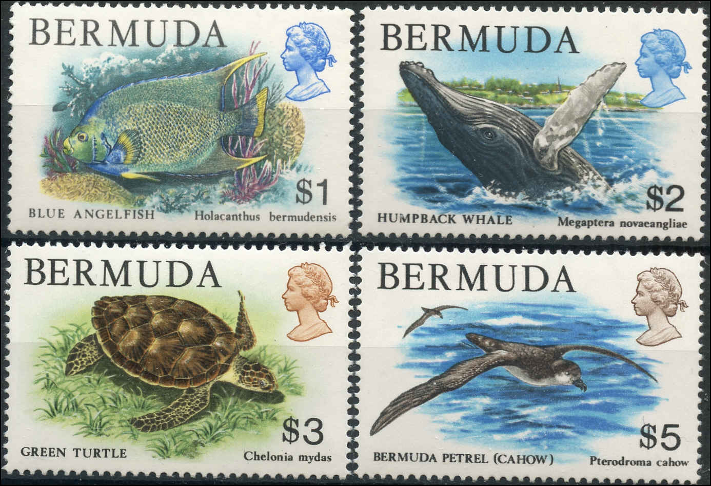 Bermuda Stamp, Scott #376-79, F-VF, MH