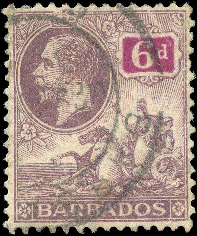 Barbados Stamp, Scott #123, F+, Used