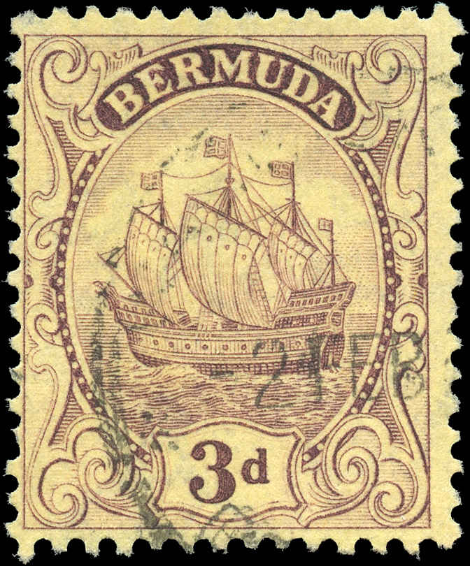 Bermuda Stamp, Scott ##45, F, Used