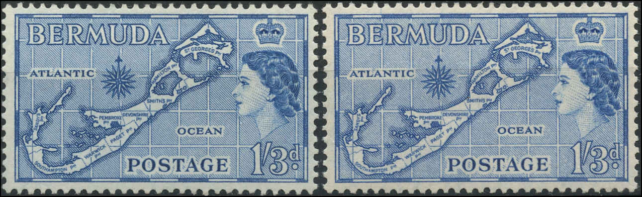 Bermuda Stamp, Scott #156-57, F-VF, MH