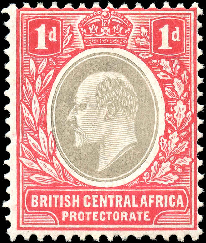 British Central Africa, Scott ##60, F, MH