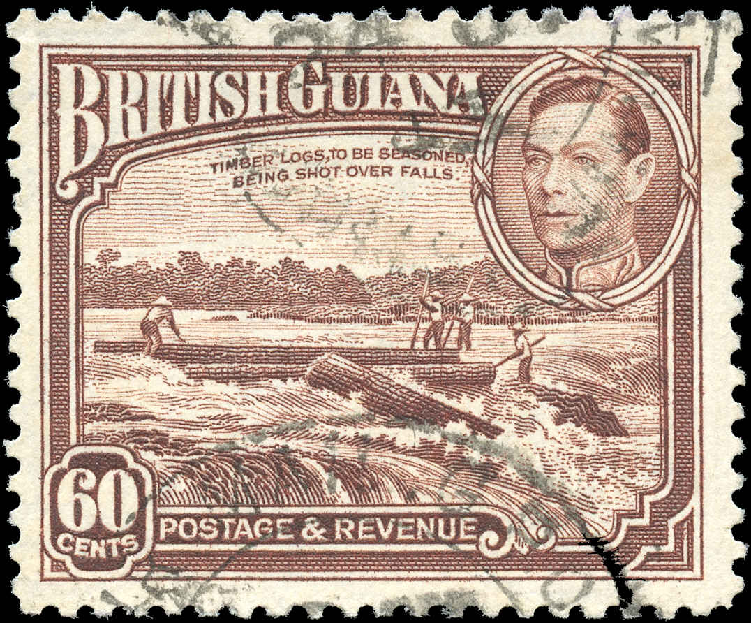 British Guiana Stamp, Scott #237, F-VF, Used