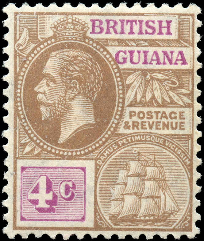 British Guiana Stamp, Scott #180, F-VF, MH