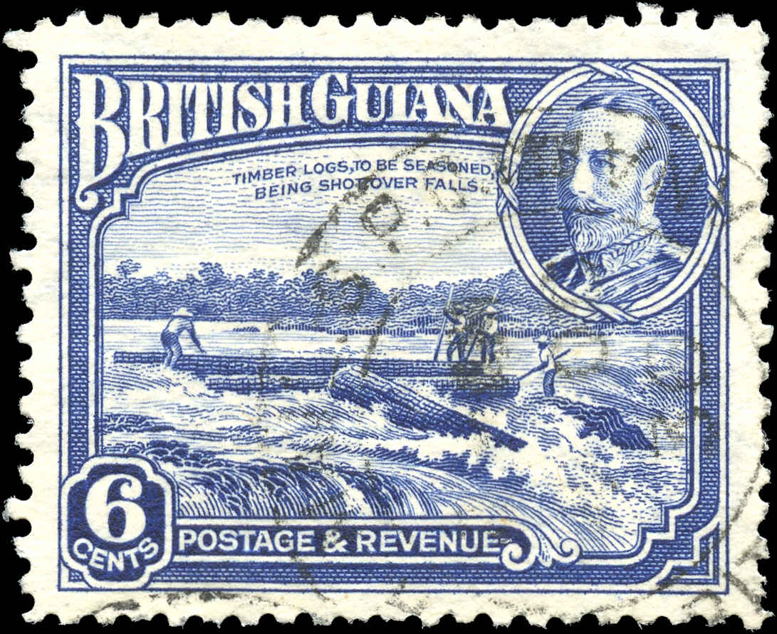 British Guiana Stamp, Scott #214, VF, Used