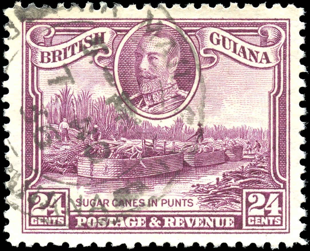 British Guiana Stamp, Scott #216, VF, Used