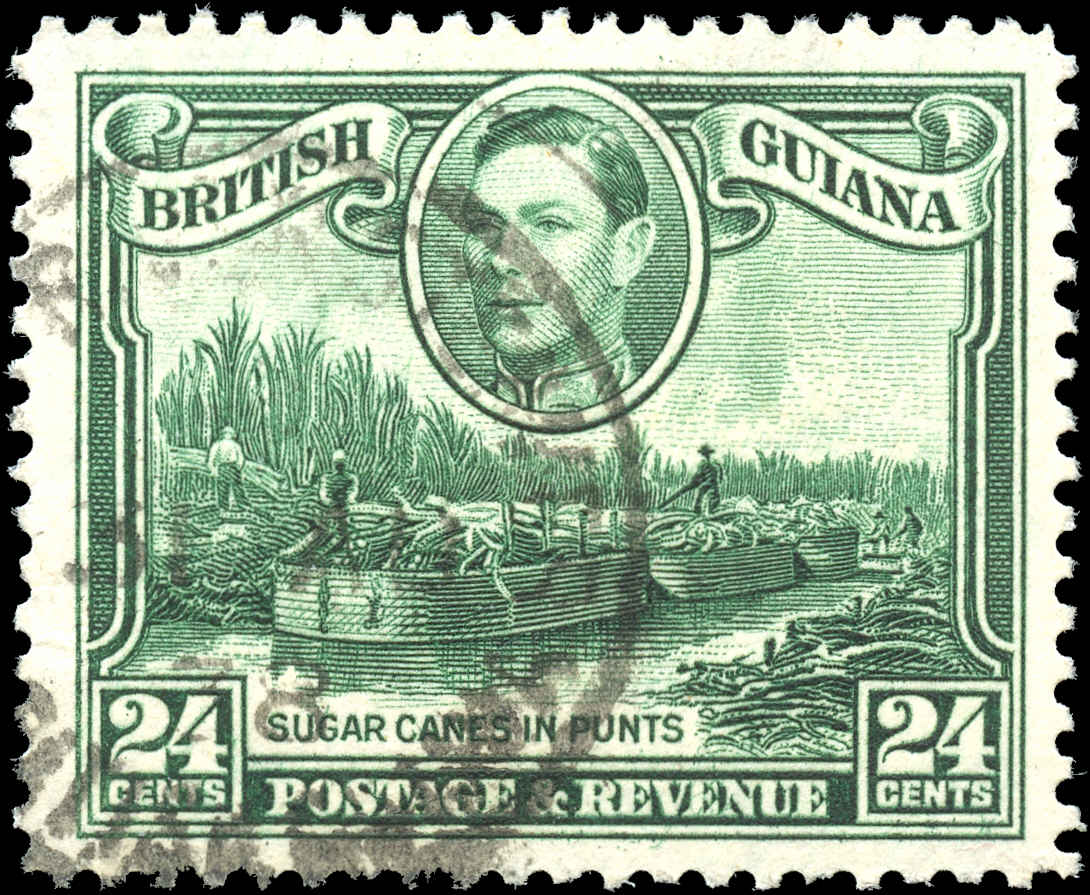 British Guiana Stamp, Scott #234a, F-VF, Used