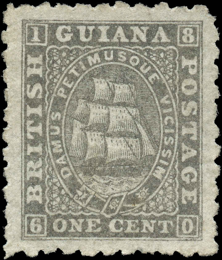British Guiana Stamp, Scott ##50, VF, MNG